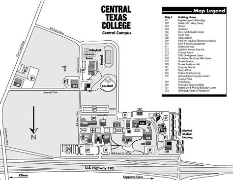 texas college map ctc cus map adriftskateshop
