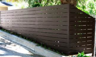 Modern Fence Modern Horizontal Fence From Harwell Fencing Amp Gates Inc