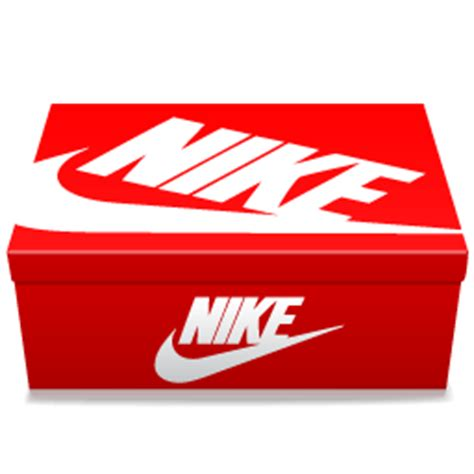 Transparant Shoes Box Penyimpanan Sepatu nike lid icon nike shoebox icons softicons