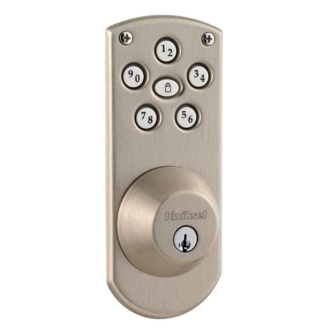 kwikset powerbolt single cylinder satin nickel electronic