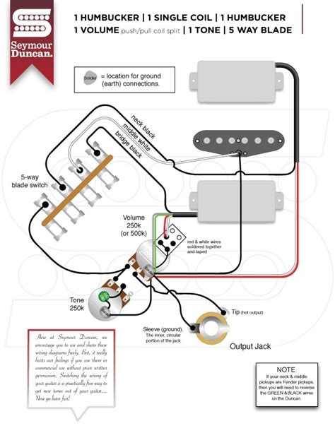 single coil humbucker telecaster wiring diagram free