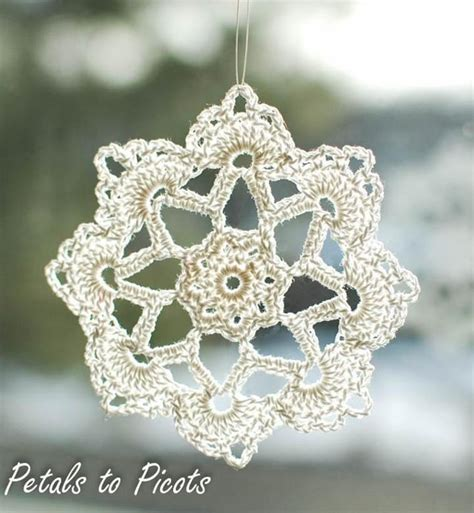 snowflake doily pattern 12 crochet snowflake patterns for holiday decorating