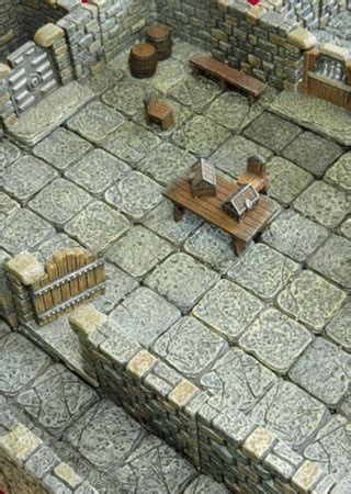 d d dungeon tiles reincarnated city books miniature terrain tiles unpainted or beautifully