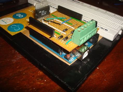 arduino rugged arduino l298 motor shield makezilla