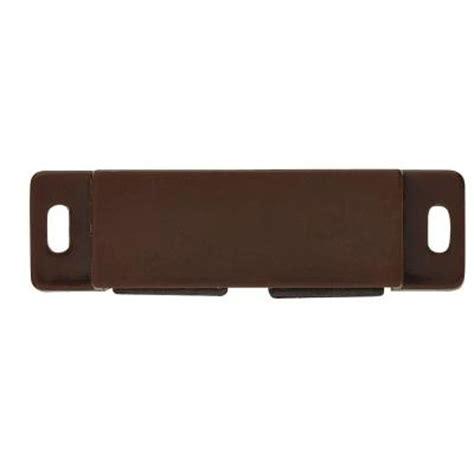 Cabinet Door Magnetic Catch Liberty 2 1 2 In Brown Magnetic Door Catch C08164c Br P The Home Depot