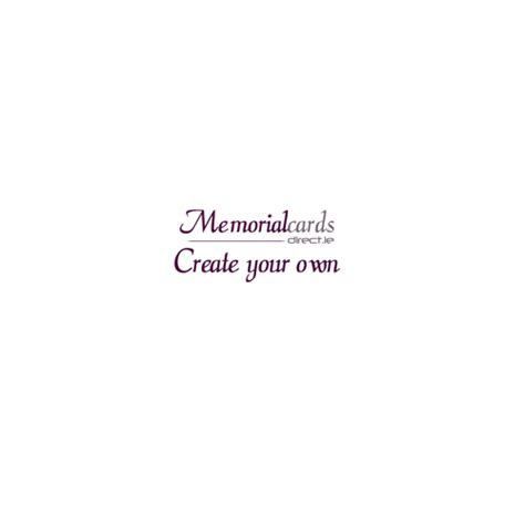 make your own memorial cards acknowledgement create your own memorial cards direct