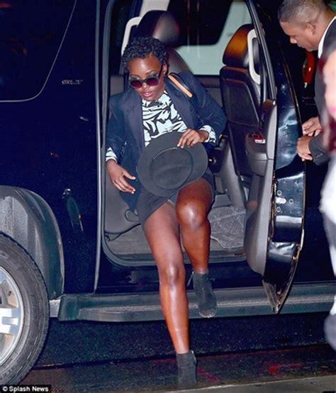 lupita nyong o flashes in epic wardrobe