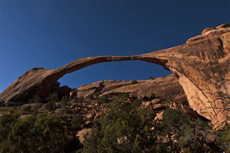 Landscape Arch Moab Arches National Park Fromalaskatobrazil
