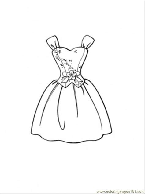 coloring pages beautiful dress entertainment gt clothing