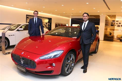 maserati dealership maserati opens its new dealership in mumbai invests close