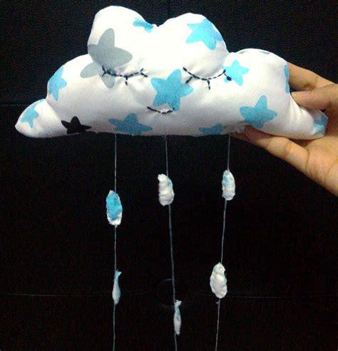 Pajangan Air Pajangan Blue 17 ide beserta cara membuat hiasan dinding bantal awan hujan hanging cloud dekor rumah