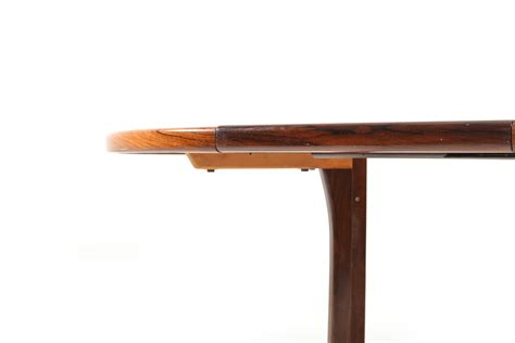 Circular Extendable Dining Table Circular Extendable Rosewood Dining Table By Faarup Room
