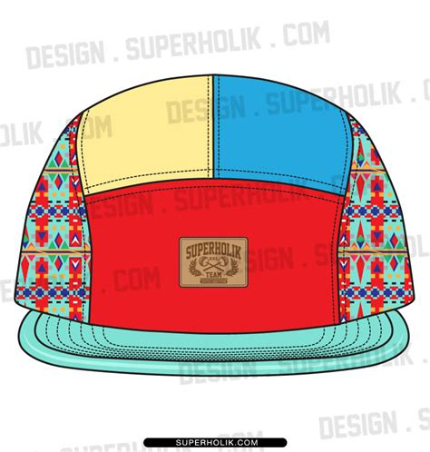 5 panel hat template fashion design templates vector illustrations and clip arts5 panel hat template fashion