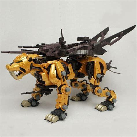Saber Tiger Gold Bt Zoids bt 1 72 zoids saber tiger gold gundam assembled model anime figure toys assembly birthday