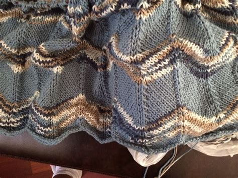 free knitted ripple afghan pattern 17 best images about knitting in progress on