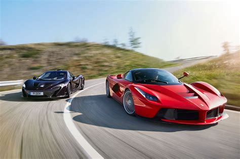 fastest lamborghini vs fastest ferrari hybrid is the new fast ferrari laferrari vs mclaren p1