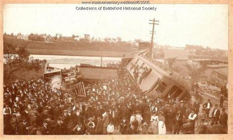 maine memory network wreck biddeford 1894