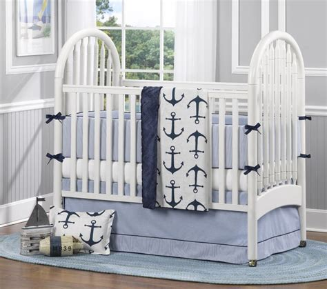 Crib Bedding Nautical 47 Best Images About Classic Oxford Nursery On Classic Rail Covers And Nautical Baby