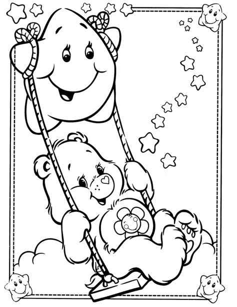 808 Best Care Bears Cousins Images On Pinterest Care Coloring Pages 808