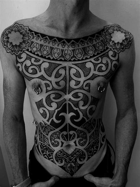 inca whole body tracery tribal tattoo best tattoo ideas