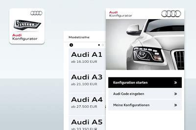 Bester Auto Konfigurator by Audi Konfigurator Neuwagen Selbst Konfigurieren 24android