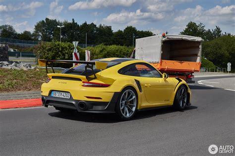 Porsche Gt2 991 by Porsche 991 Gt2 Rs Weissach Package 21 Juli 2017