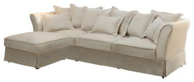 cottage style sofas coaster karlee cottage style sectional in oatmeal