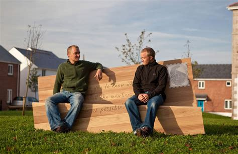 benching people letter bench boex