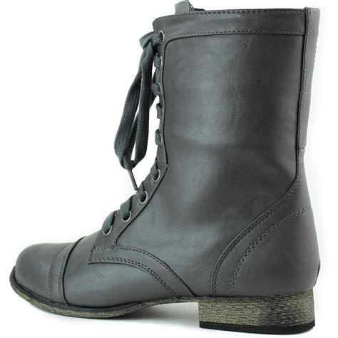 comfortable boots women women s comfortable lace up cowboy riding military combat