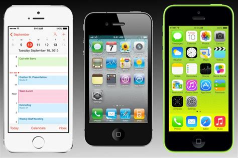 Iphone 4 4s 5 5s iphone 5s vs iphone 5c vs iphone 4s spec comparison