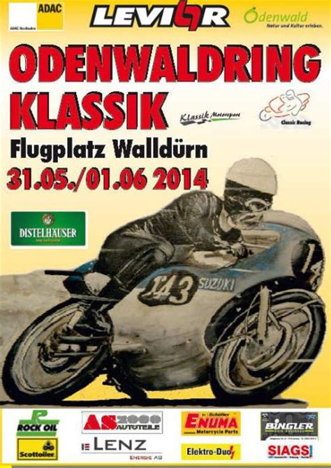 Motorrad Classic Rennen Walld Rn by 2014 Odenwaldring Klassik Walld 252 Rn