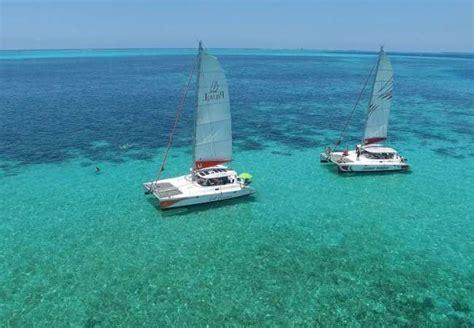 catamaran mauritius lagoon catamaran cruises in mauritius deep sea or lagoon sailing