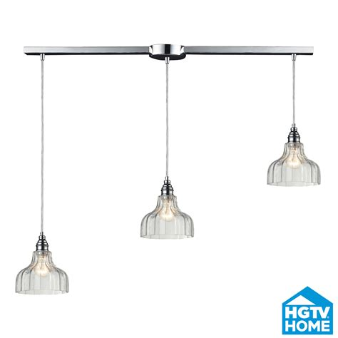 Multi Pendant Lighting Fixtures Elk Lighting 46018 3l Danica Linear Multi Pendant Ceiling Fixture