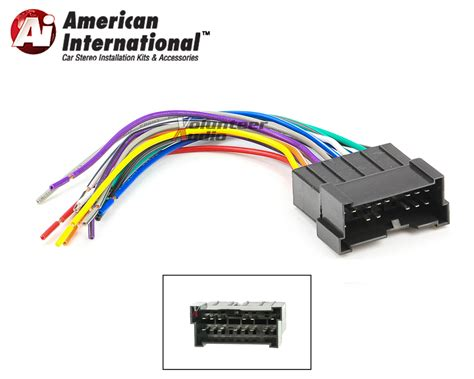aftermarket car stereo wiring harness aftermarket car