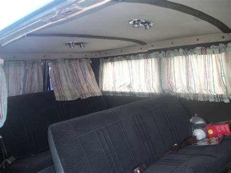 van curtains 66 surf wagons ford falcon