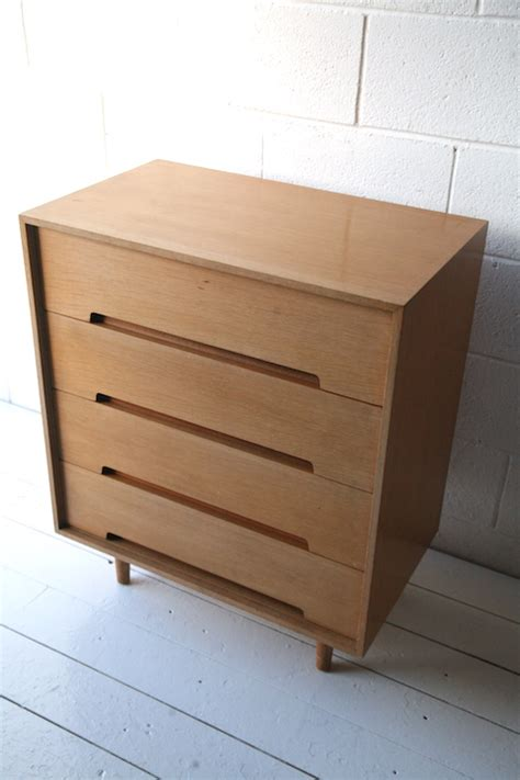 1950s Chest Of Drawers by 1950s Chest Of Drawers By Stag And Chrome
