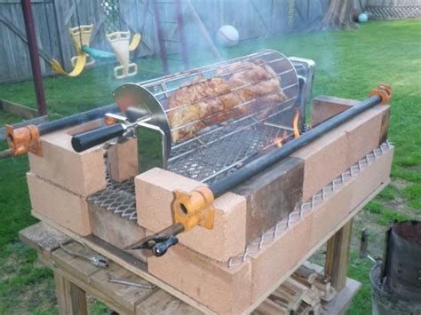 Diy Backyard Grill Portable Brick Grill The Next Useless Project The Bbq Brethren Forums внедорожники