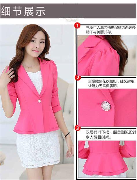 Jual Basic Vest Cantik blazer kerja wanita korea simple cantik model terbaru jual murah import kerja