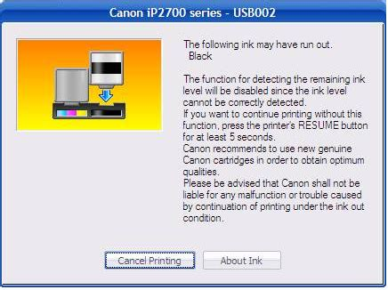 how to reset canon ip2770 printer ink pengalaman saya memakai printer canon pixma ip2770 infus