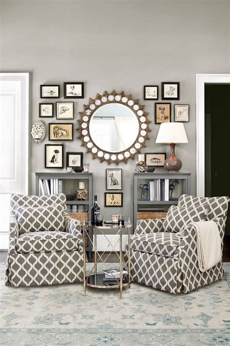8 ideas to use a round mirror in a large living room 10 startling wall mirror decor ideas that you must see today