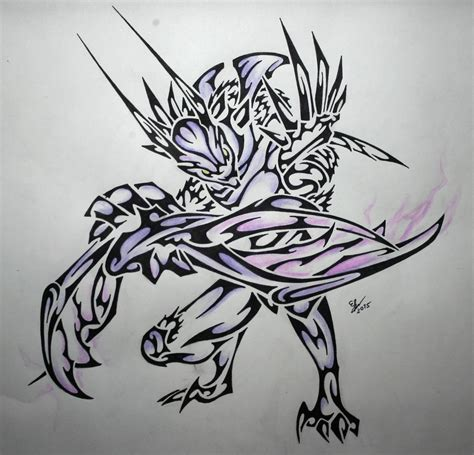tribal kha zix by esmeekramer on deviantart