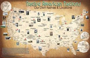 map of the indian tribes of america 2014 american tribal nation map american indian
