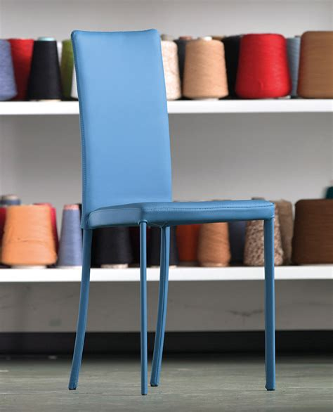 sedia colorata sedia colorata slim riflessi