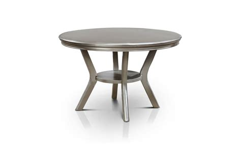 Deals On Dining Tables Navarre Contemporary Dining Table Chagne Groupon