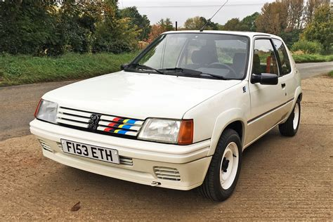 peugeot 205 weight peugeot 205 rallye review retro road test motoring research