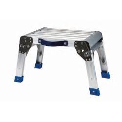 step stool working platform