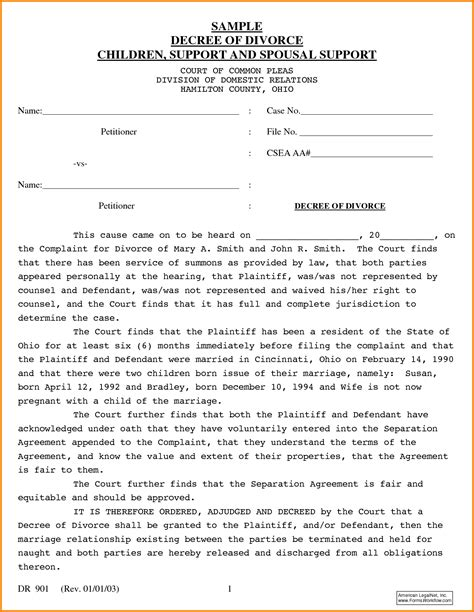 How To Make Divorce Papers - copy of divorce papers 64780003 png letter template word