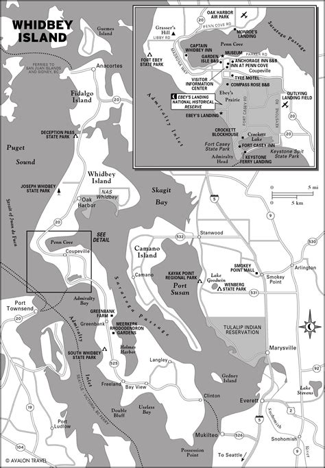 map of whidbey island map of whidbey island washington