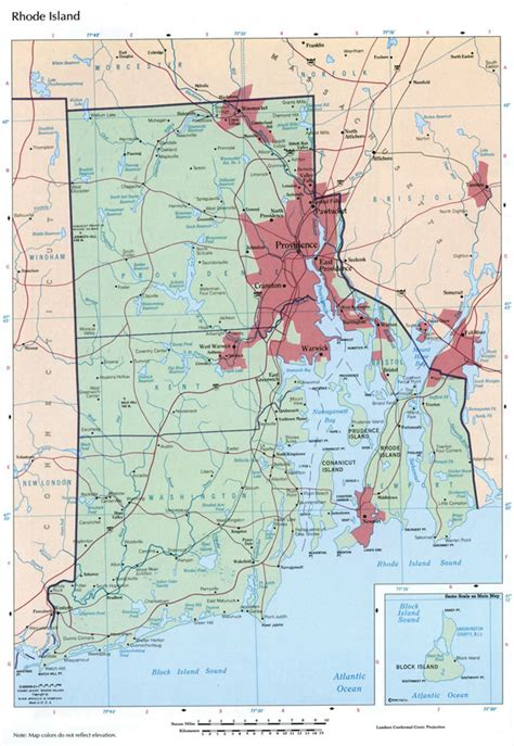 map of usa rhode island large detailed map of rhode island state with
