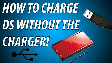 Free Search Without Charge How To Charge Ds Dsi 3ds Without The Original Charger